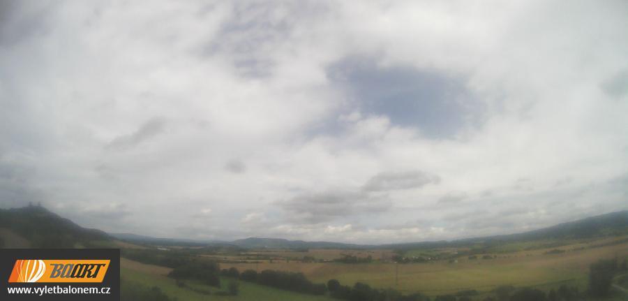 Webkamera s pohledem na hrad Trosky